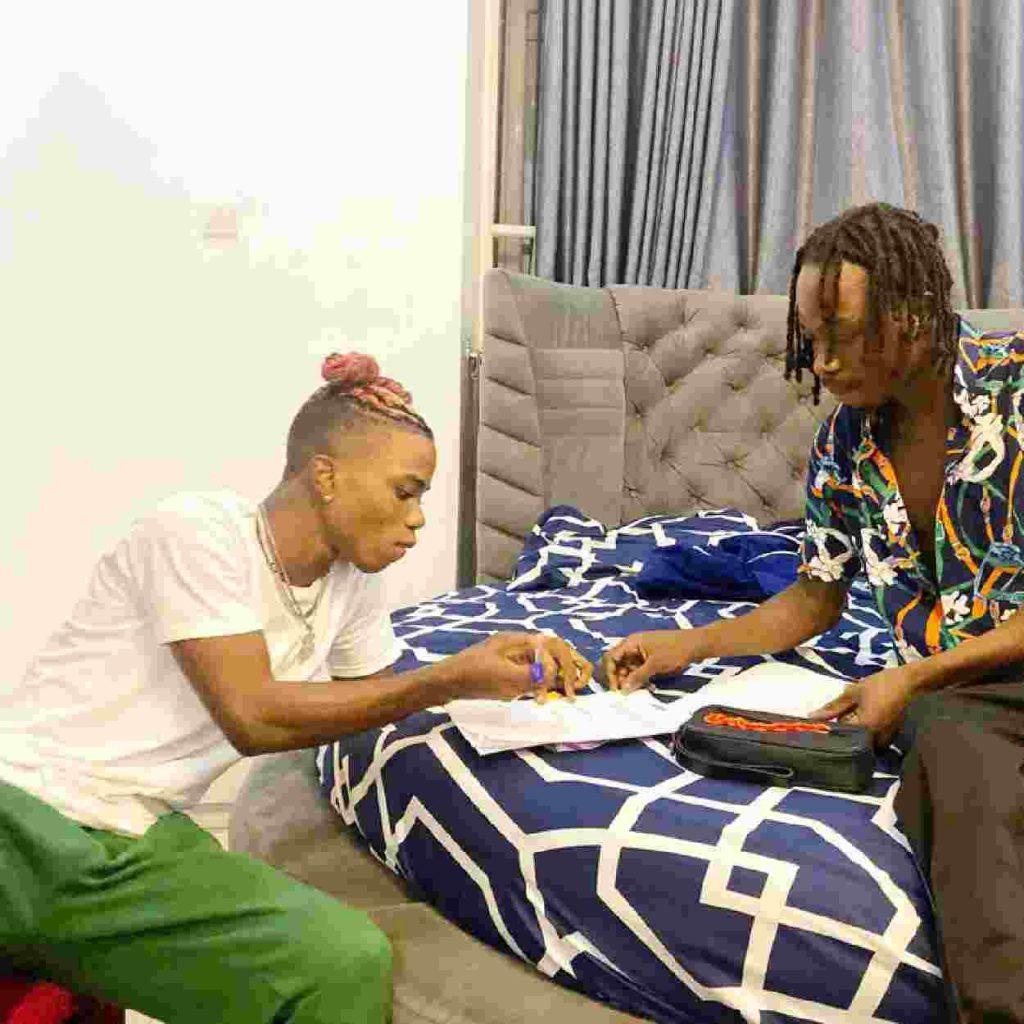 Naira Marley and his new artiste Lyta
