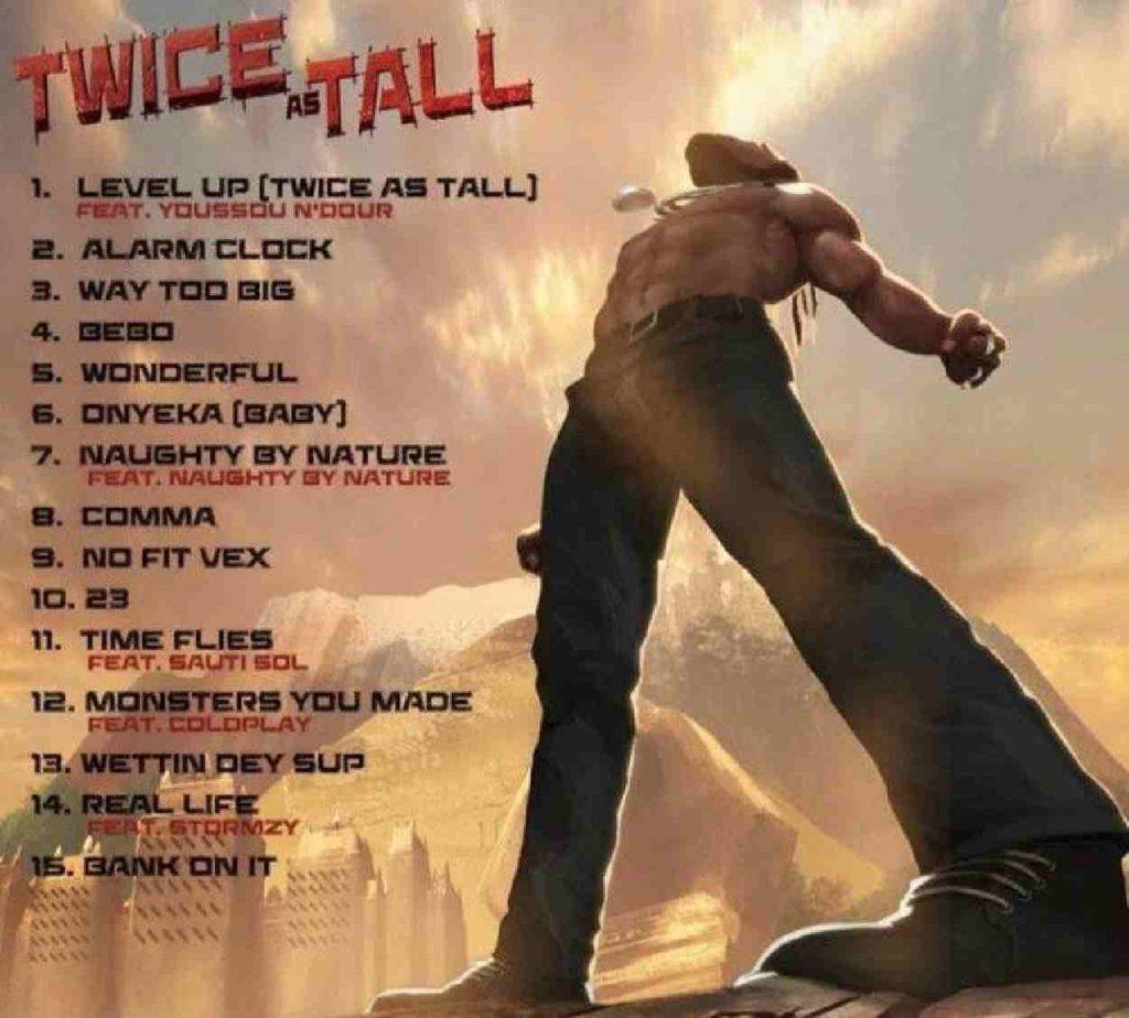 Burna Boy new album, Twice as Tall song list