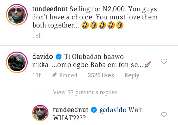 Davido and Wizkid discussion